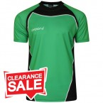 Sublimation T-Shirt Green Black