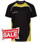 Sublimation T-Shirt Yellow Black